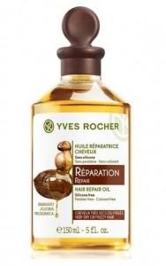Odbudowujący olejek do włosów Yves Rocher