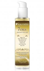Olejek do włosów Nacomi